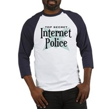 Secret Internet Police Baseball Jersey