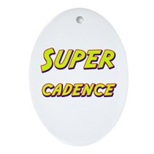 Super cadence Oval Ornament