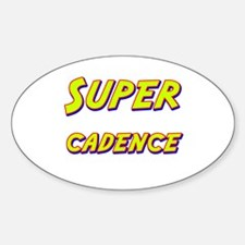 Super cadence Oval Decal