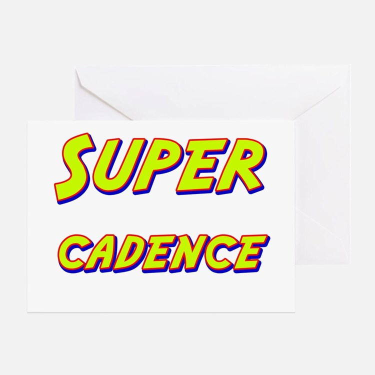 Super cadence Greeting Card