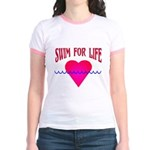 Swim for Life Jr. Ringer T-Shirt