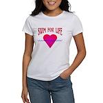 Swim for Life Women's T-Shirt
