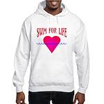 Swim for Life Hooded Sweatshirt