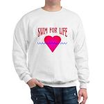 Swim for Life Sweatshirt