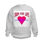 Swim for Life Kids Sweatshirt