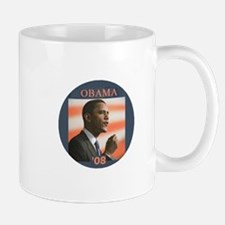 Obama Photo Flag Mug
