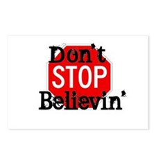 Don't Stop Believin' Postcards (Package of 8)