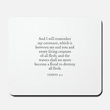 GENESIS  9:15 Mousepad