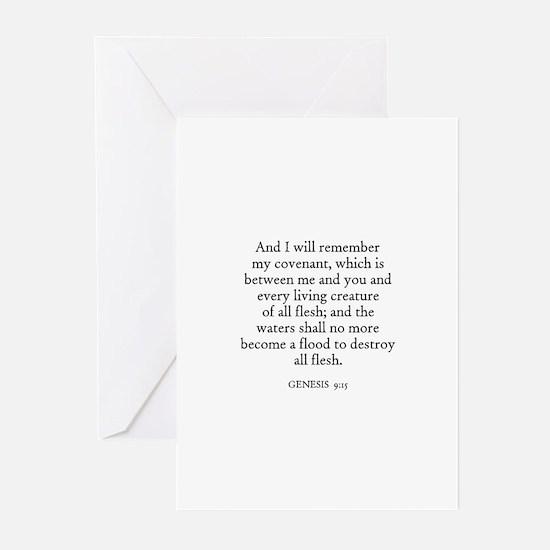 GENESIS  9:15 Greeting Cards (Pk of 10)