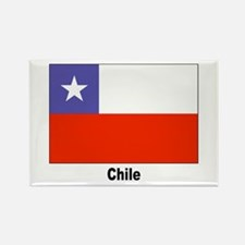 Chile Chilean Flag Rectangle Magnet