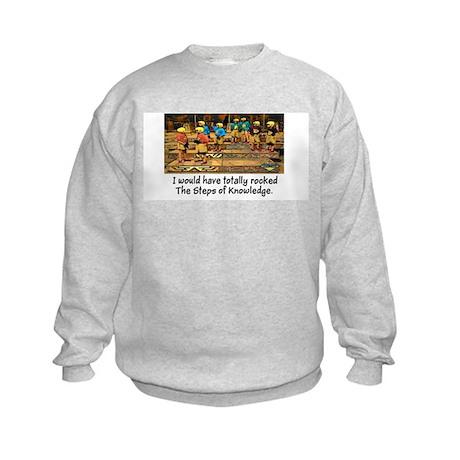 Steps of Knowledge Kids Sweatshirt