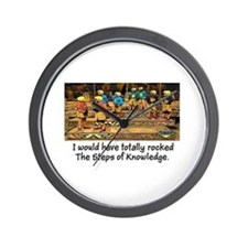 Steps of Knowledge Wall Clock