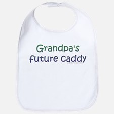 Grandpa's Future Caddy Bib