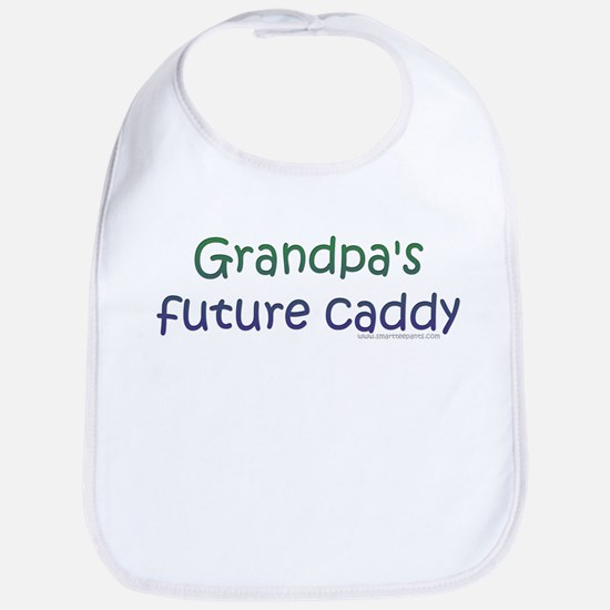 Grandpa's Future Caddy Bib