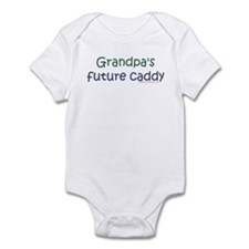 Grandpa's Future Caddy Infant Creeper