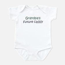 Grandpa's Future Caddy Infant Creeper