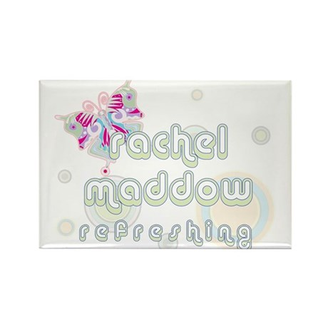 Rachel Maddow Refreshing Rectangle Magnet (10 pack