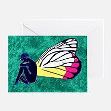 Jezebel Butterfly Greeting Card