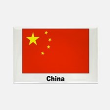 China Chinese Flag Rectangle Magnet (10 pack)