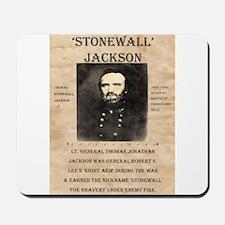Stonewall Jackson Mousepad