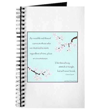 Red Thread Legend (Dogwood) Journal
