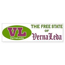 Verna Leda Bumper Bumper Sticker