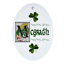 McGrath Celtic Dragon Keepsake Ornament