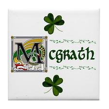 McGrath Celtic Dragon Ceramic Tile