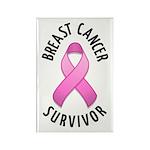 Breast Cancer Survivor Rectangle Magnet (10 pack)