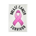 Breast Cancer Survivor Rectangle Magnet (100 pack)