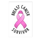 Breast Cancer Survivor Postcards (Package of 8)