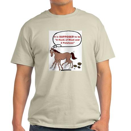 Confused Foxtrotter Ash Grey T-Shirt