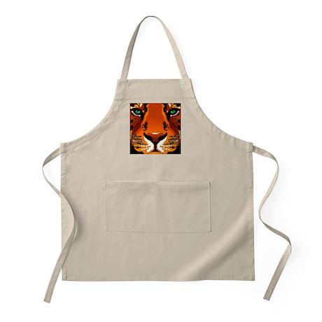 Tiger Face BBQ Apron