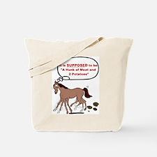 Confused Foxtrotter Tote Bag