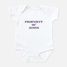 Property of Jesus - Purple Infant Bodysuit