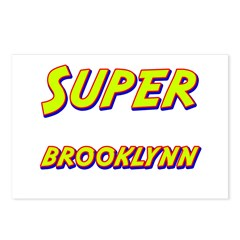 Super brooklynn Postcards (Package of 8)