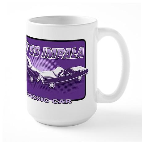 """62 Impala """"Chevrolet"""" Large Mug"""