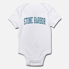 Stone Harbor New Jersey NJ Blue Infant Bodysuit