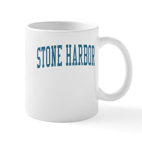 Stone Harbor New Jersey NJ Blue Mug