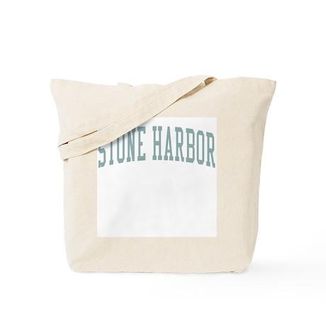 Stone Harbor New Jersey NJ Green Tote Bag