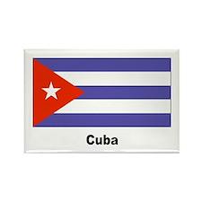 Cuba Cuban Flag Rectangle Magnet