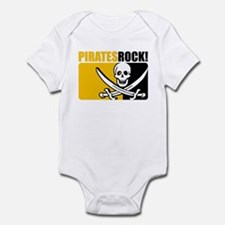 Pirates Rock! Infant Bodysuit