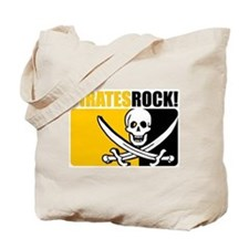 Pirates Rock! Tote Bag