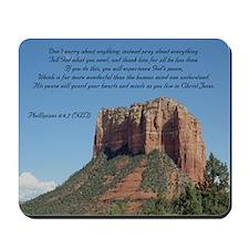 Phillipians 4:6,7 Mousepad