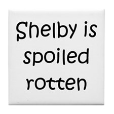 Funny Shelby Tile Coaster