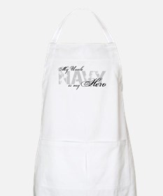 Uncle is my Hero NAVY BBQ Apron