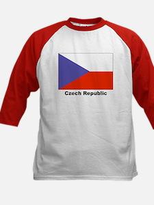 Czech Republic Flag (Front) Tee
