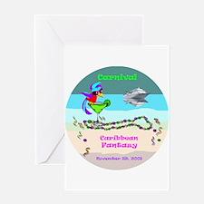 Carnival Caribbean Fantasy- Greeting Card