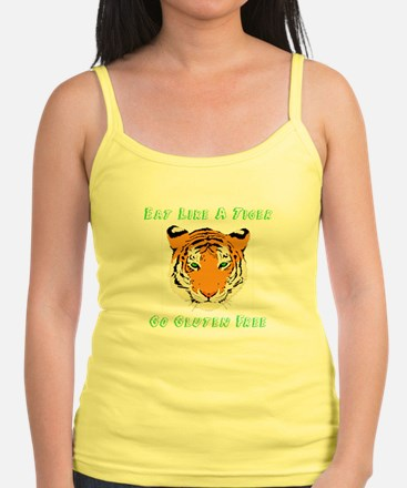 Eat Like A Tiger BW Tank Top