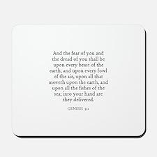 GENESIS  9:2 Mousepad